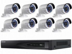 Simple multi camera CCTV system