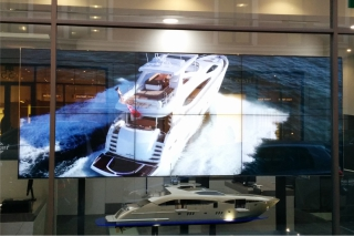 Video display for Sunseeker London
