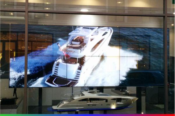 Digital display screens