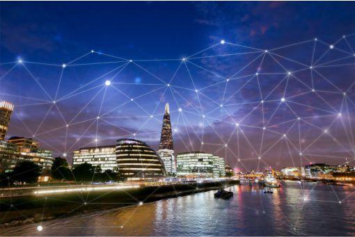Smart City - London skyline