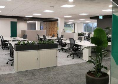 Large open plan modern office