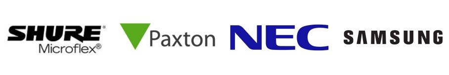 Shure   Paxton   NEC   Samsung