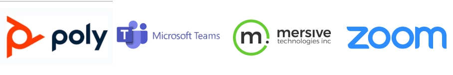 Poly   Microsoft Teams   Mersive   Zoom