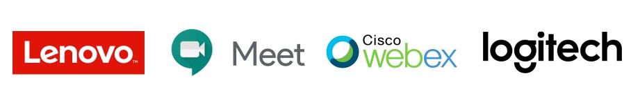 Logitech   Google Meet   Cisco Webex   Logitech